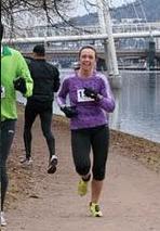 Drammen halvmaraton (påskemaraton) 1:39:34