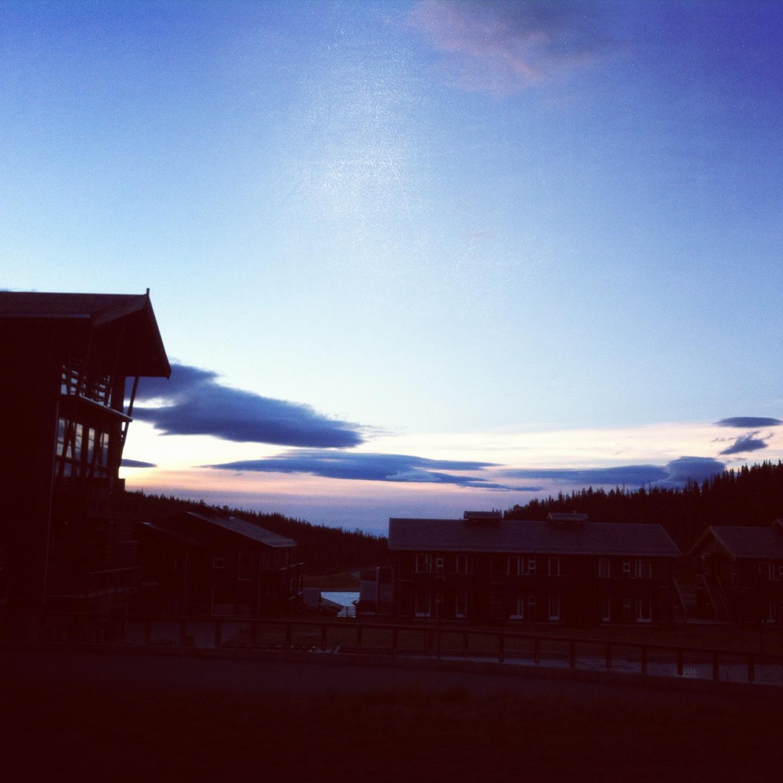 Osndagmorgen - litt bedre værforhold:-)