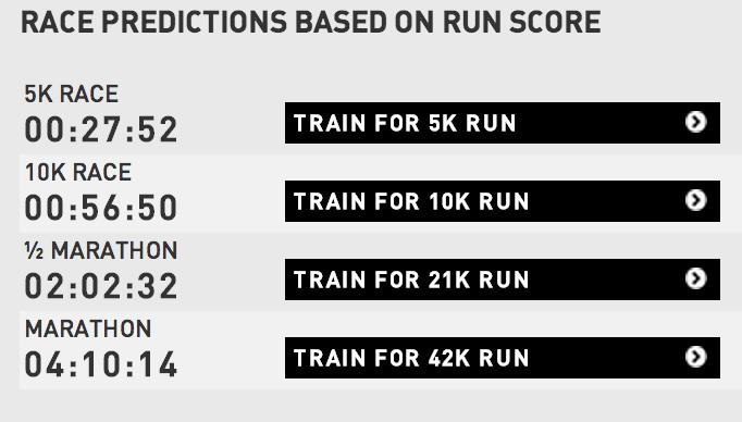 Trenerns dom etter fredagsjoggen. 57 min på mila på 12-13 km treningstur imponerte tydeligvis nada