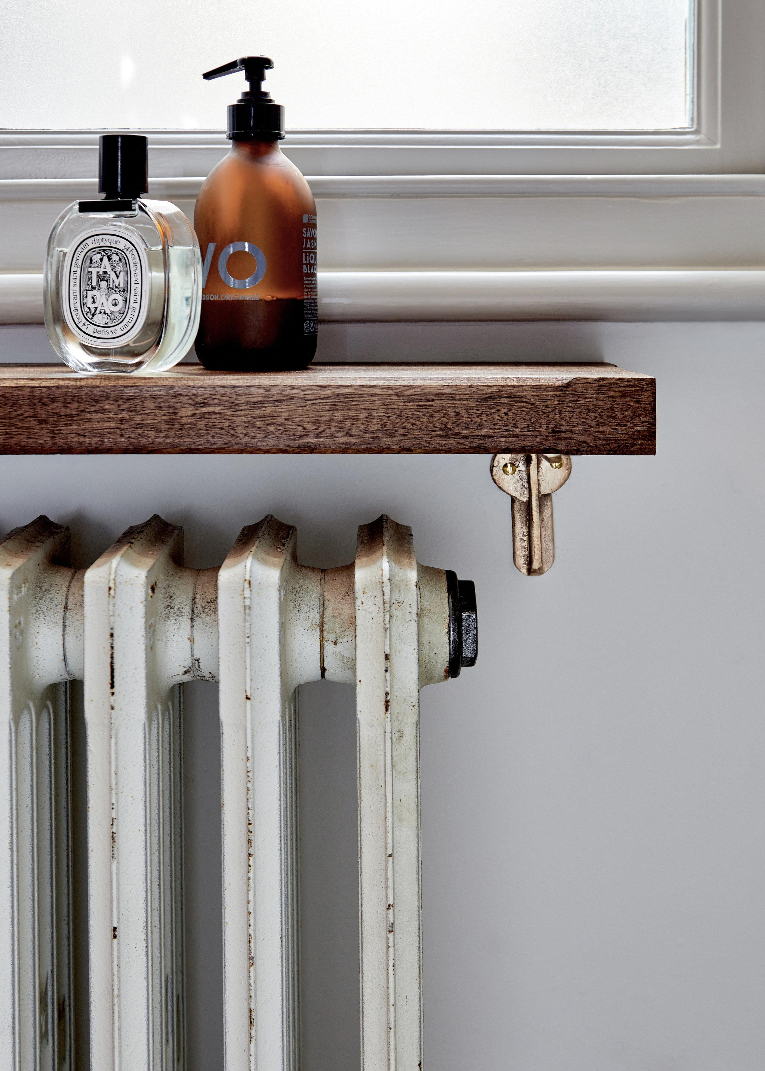 Radiator Shelf Mark Lewis Interior Design