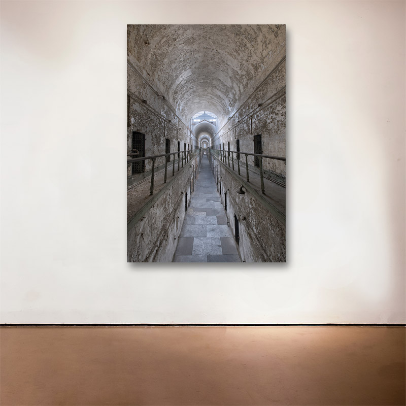 """Vanishing Point, 2015 Medium: Sublimation on Aluminum Dimensions and Edition Size: 36"""" x 24"""",Edition of 15"""