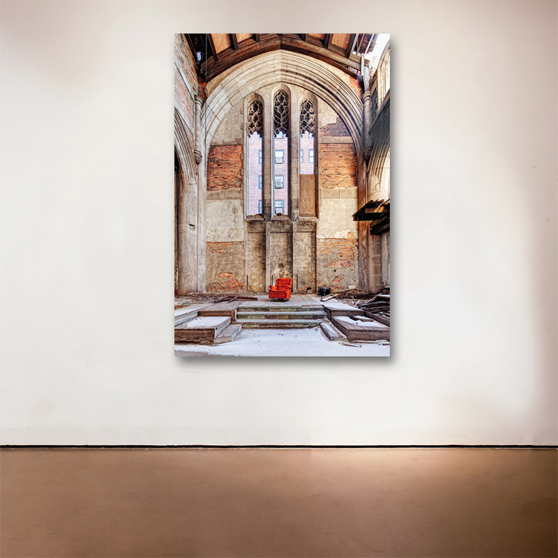 """Sanctuary, 2015 Medium: Sublimation on Aluminum Dimensions and Edition Size: 48"""" x 32"""",Edition of 10 