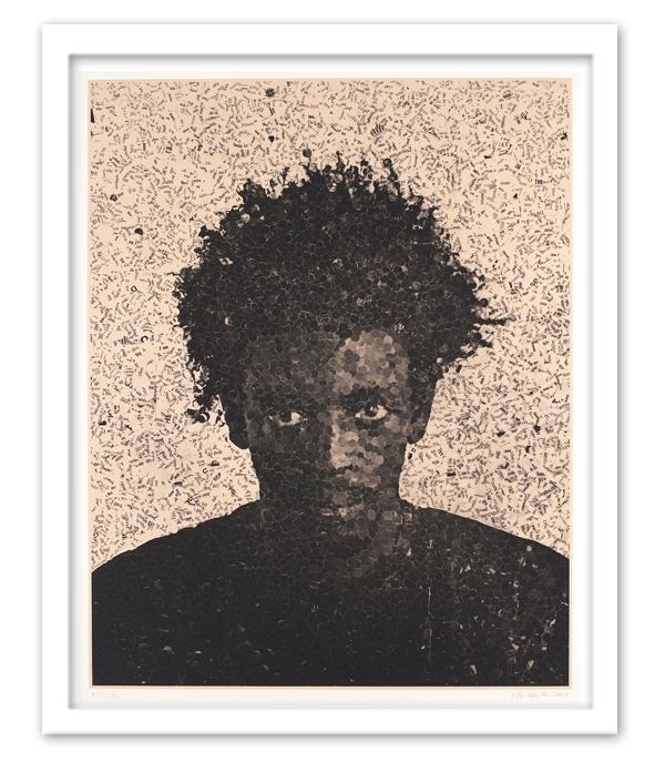 "Jorge,  2003 Medium: Photogravure on Silk Collé Dimensions: 52 1/4"" x 41 1/2"""