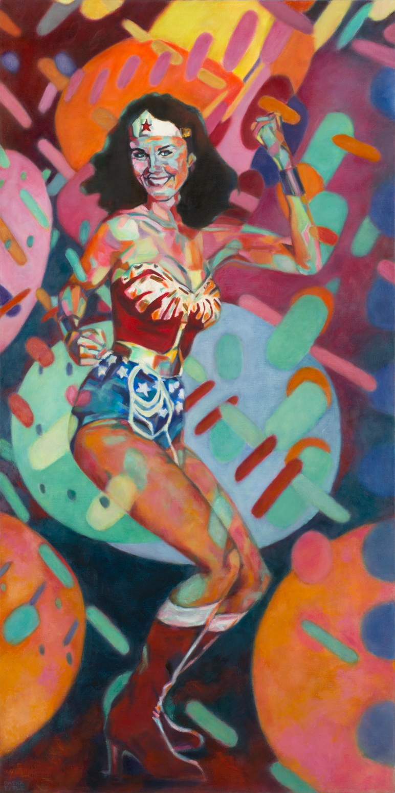Wonder Woman at the Disco