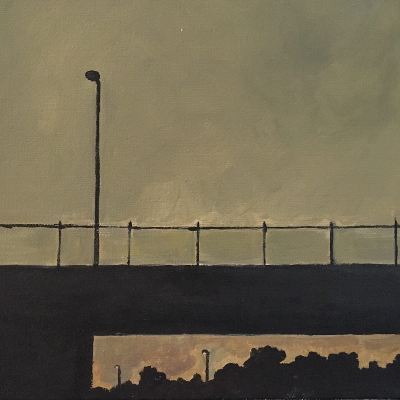 Evening Freeway