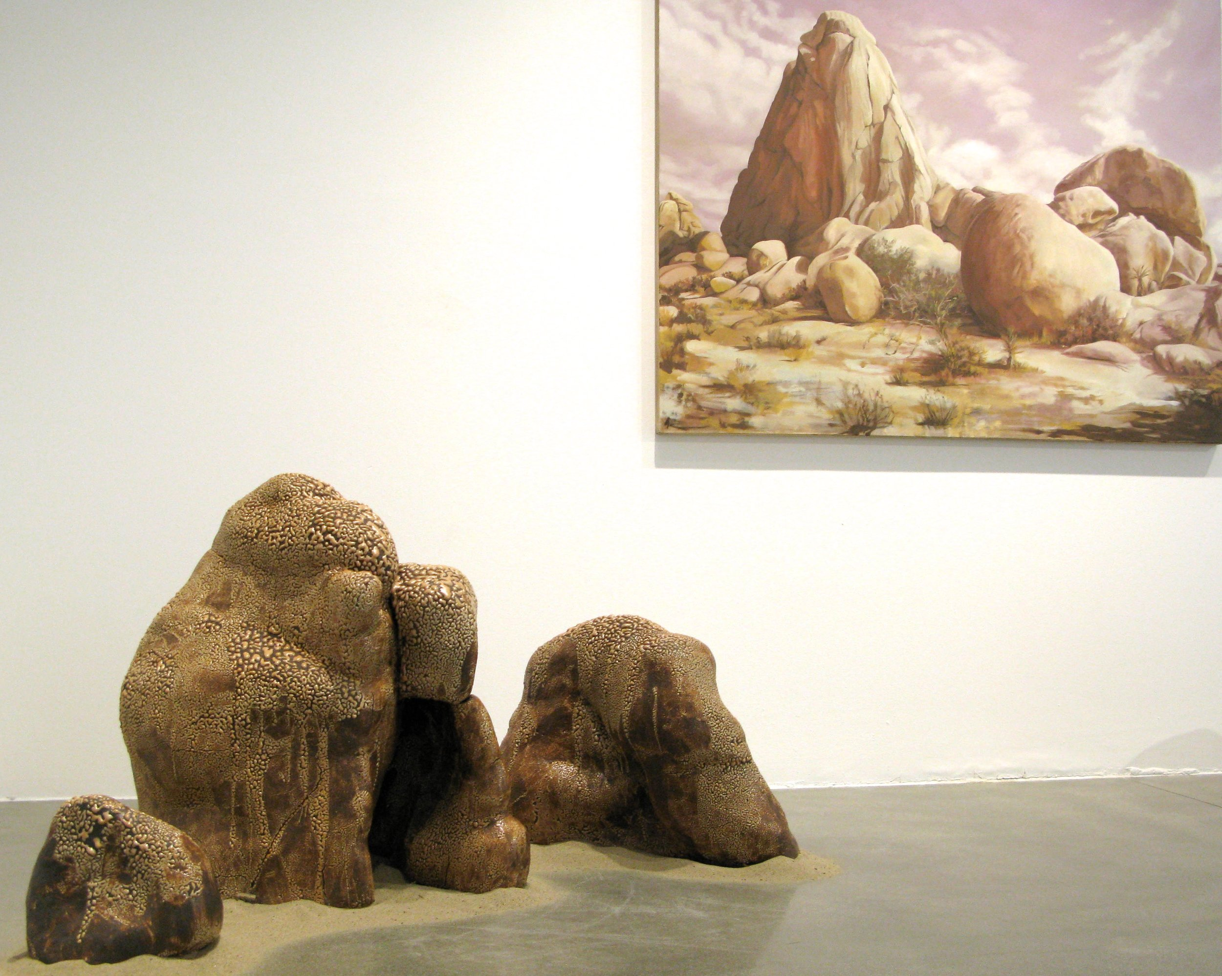 """""""Formation Series"""" Reclining Rock"""