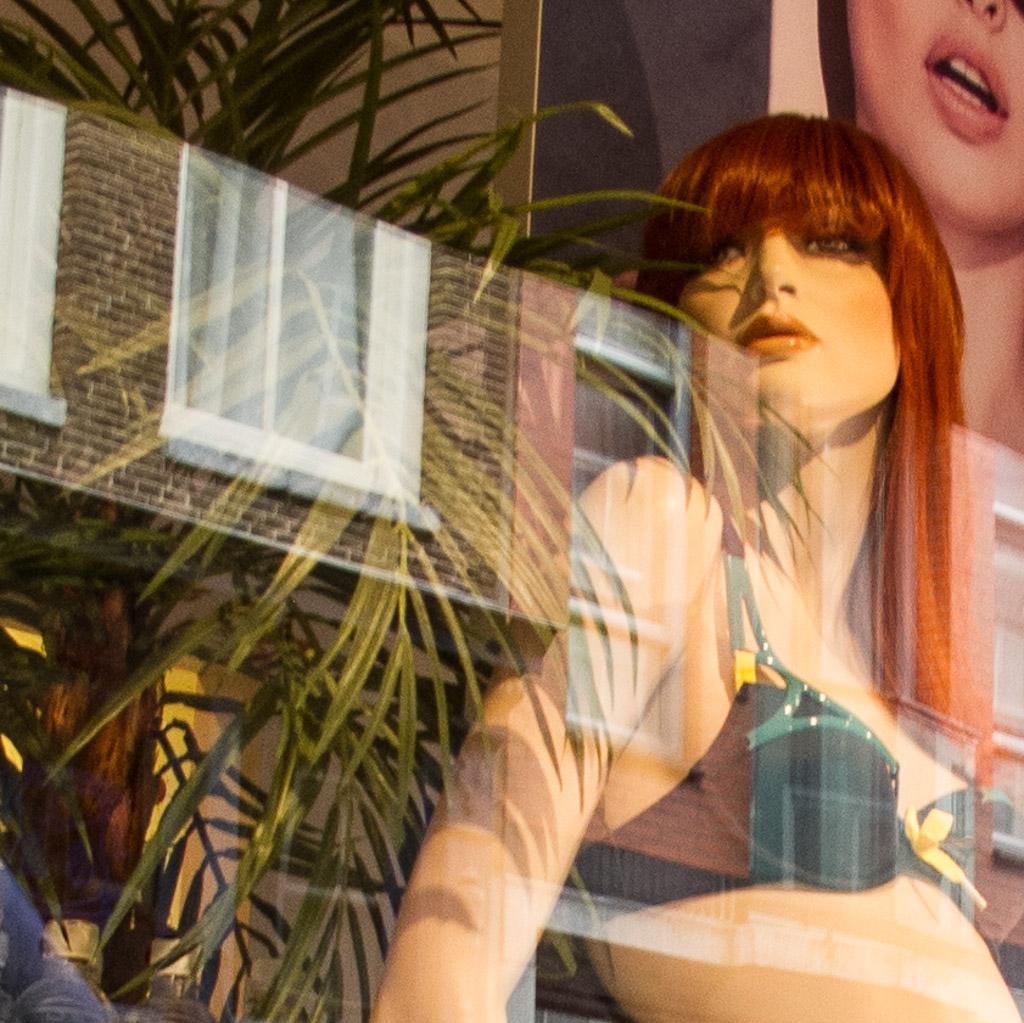 Reflection Amsterdam Window