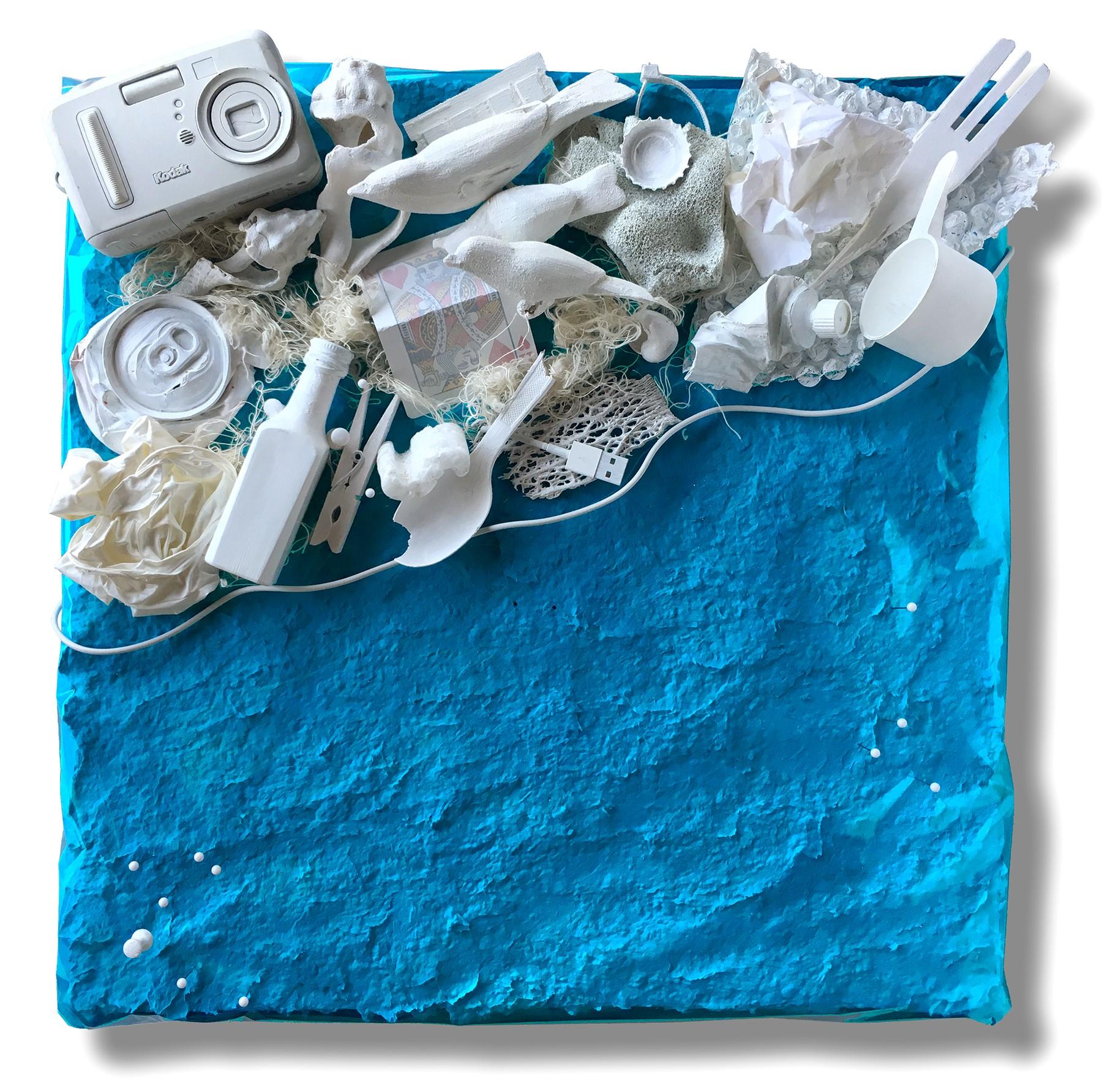 Blue #4 - Ocean Shoreline