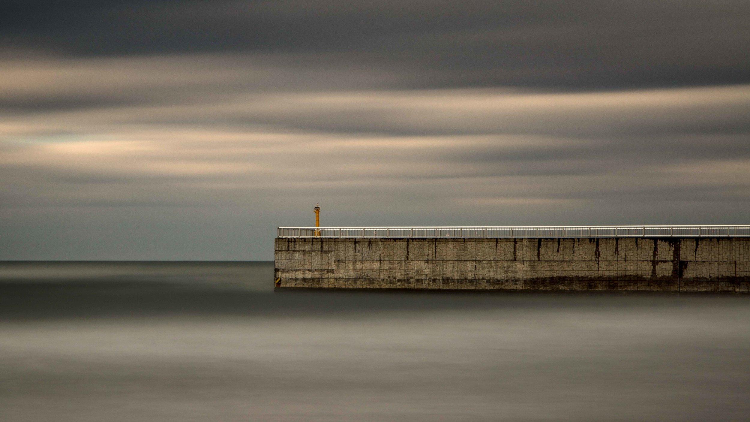 Seawall at Otura Bay