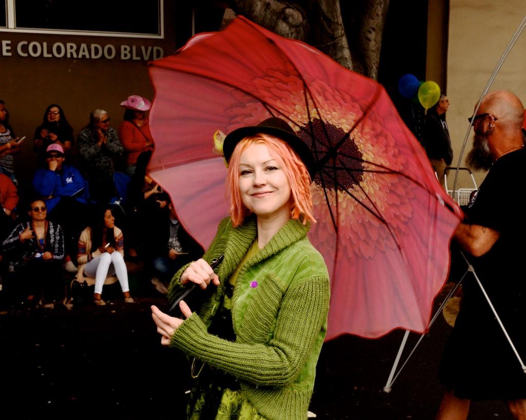 Beauty Under the Umbrella