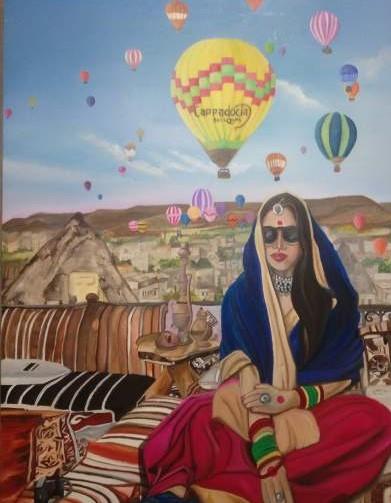 Kamli in Cappadocia