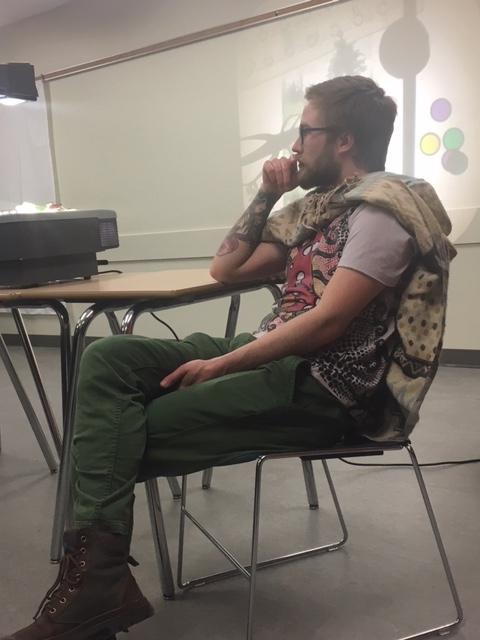 Teague Urquhart, BSc., Forest School Practitioner in progress