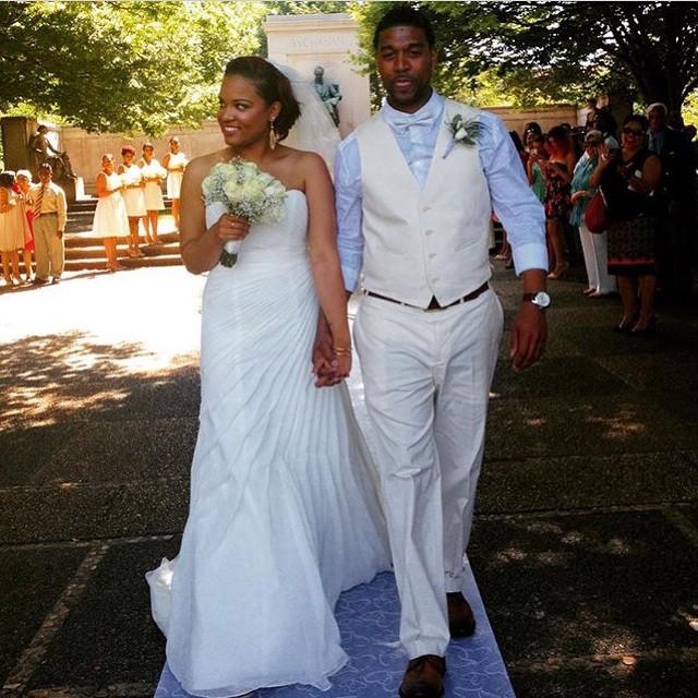 Mr. & Mrs. Jackson! #love #marriage