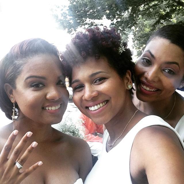 @danibeautifulsoul is MARRIEDDDD!!!! #Love @eineliebe