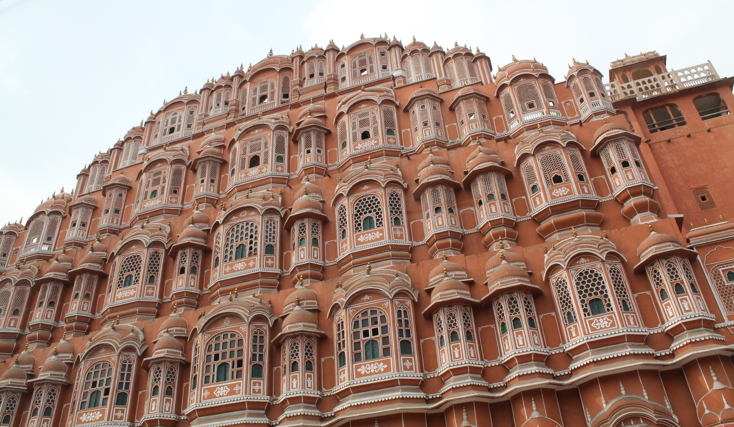 Hawa Mahal is often called the Palace of Winds