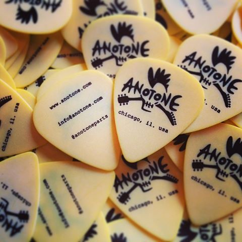 ANOTONE promotional guitar picks by  Steve Clayton, Inc.