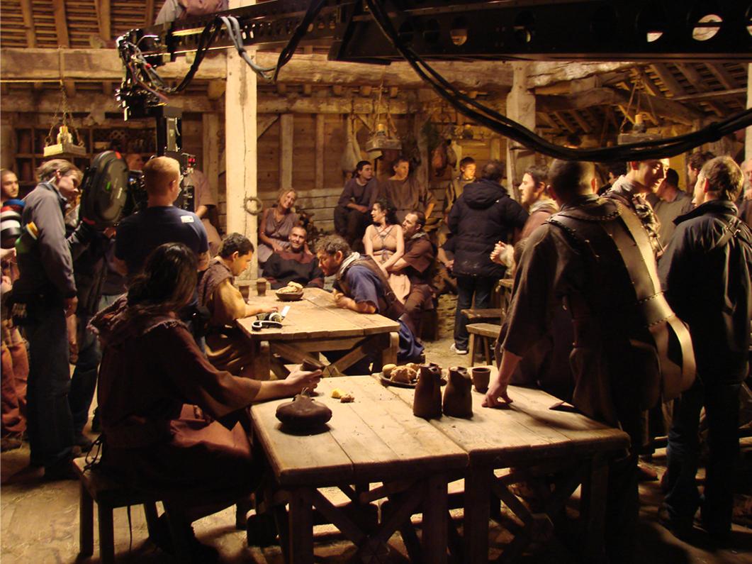 Set for a tavern on York.