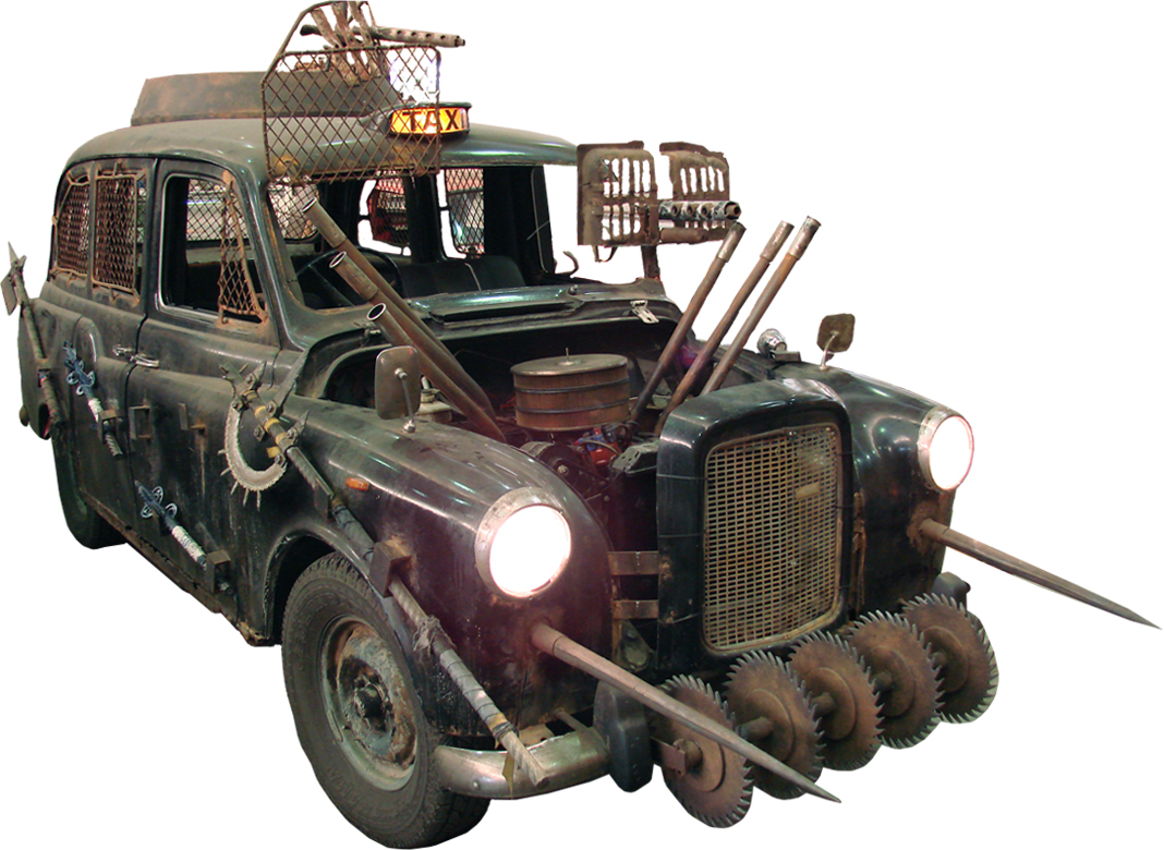 Marauder taxi converted into Battle-cab!