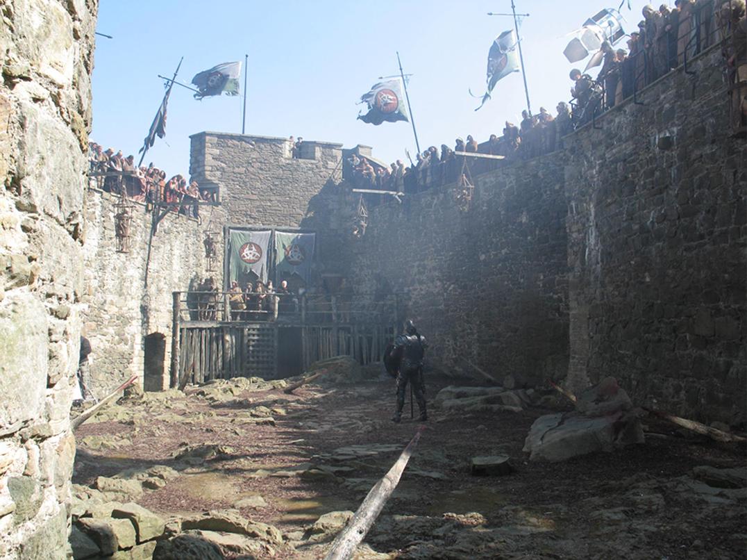 Blackness castle near Edinburgh.