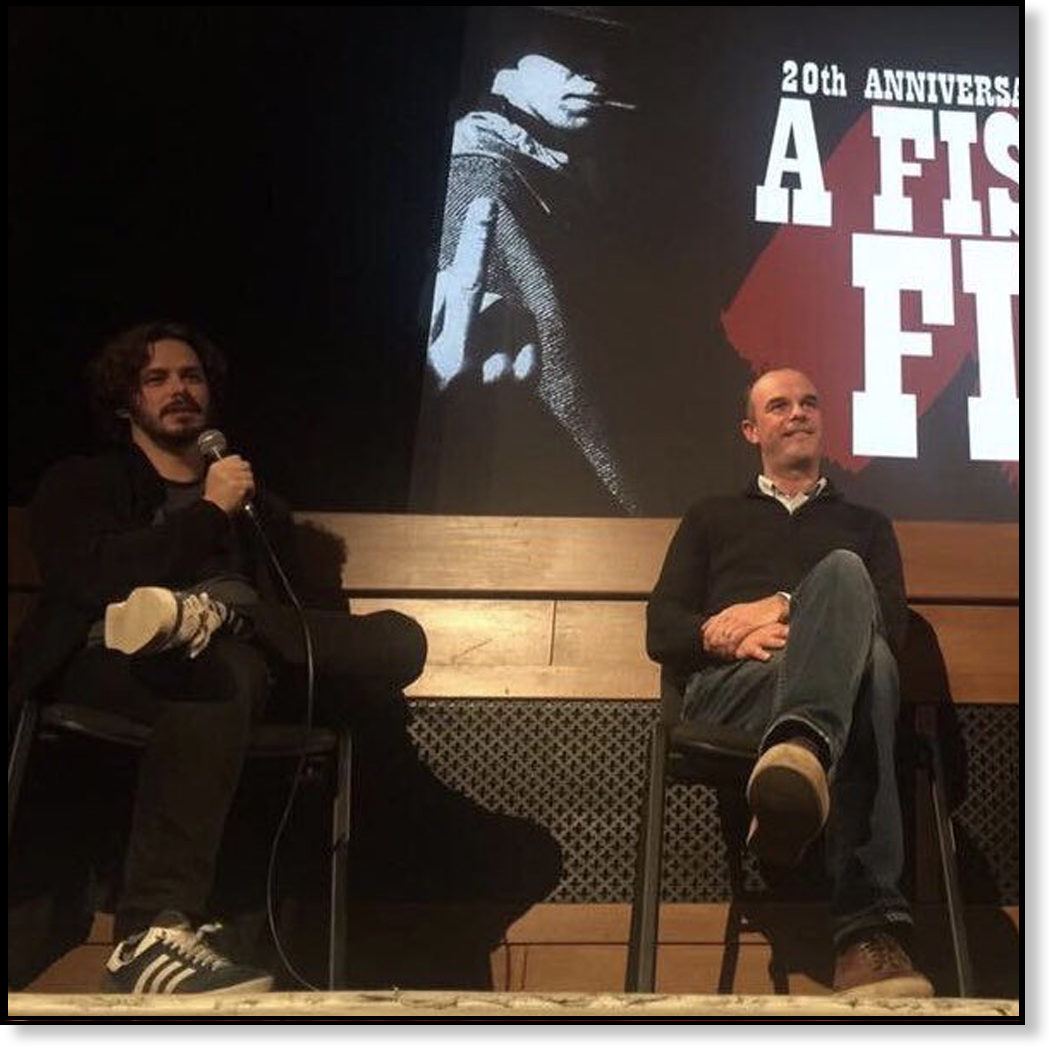 Q&A WITH DIRECTOR EDGAR WRIGHT ON OUR FISTFUL OF FINGERS FILM