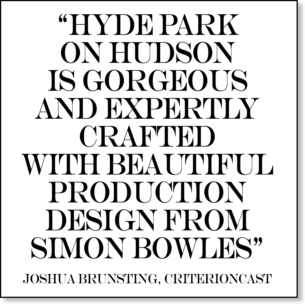 REVIEW OF HYDE PARK ON HUDSON