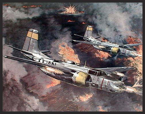 On April 21, 1945, A-26s and A-20s of the 9th Air Force flew over 120 interdiction sorties against the railroad marshalling yards at Attnanpucheim in Austria. The low flying bombers caused tremendous damage and lost not a single aircraft as they cut the main line from Vienna to southern Germany. The remaining seasoned troops in Germany would go nowhere for the rest of the war.