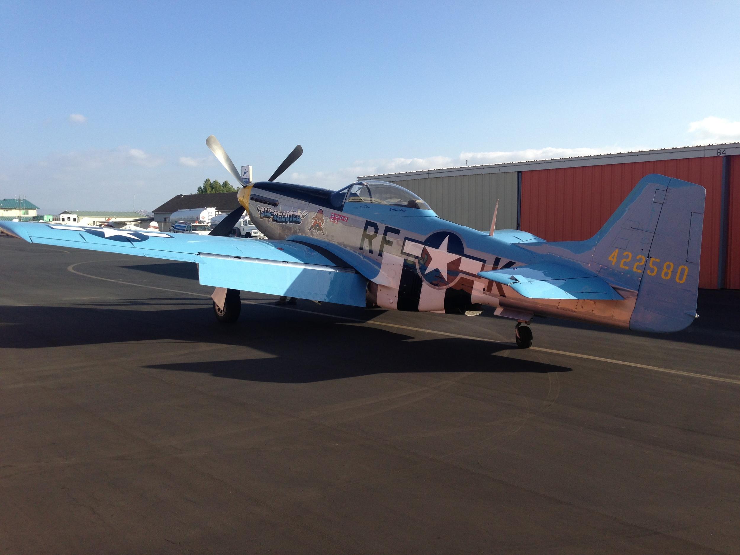 "P-51 Mustang ""Six Shooter"""