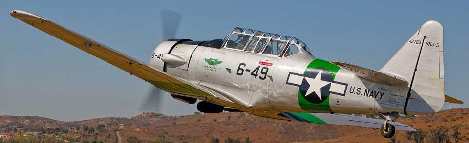 CAF's SNJ-5 Texan (T-6)