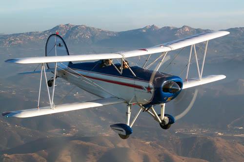 Great Lakes Biplane, replica of a 1933 era biplane trainer.