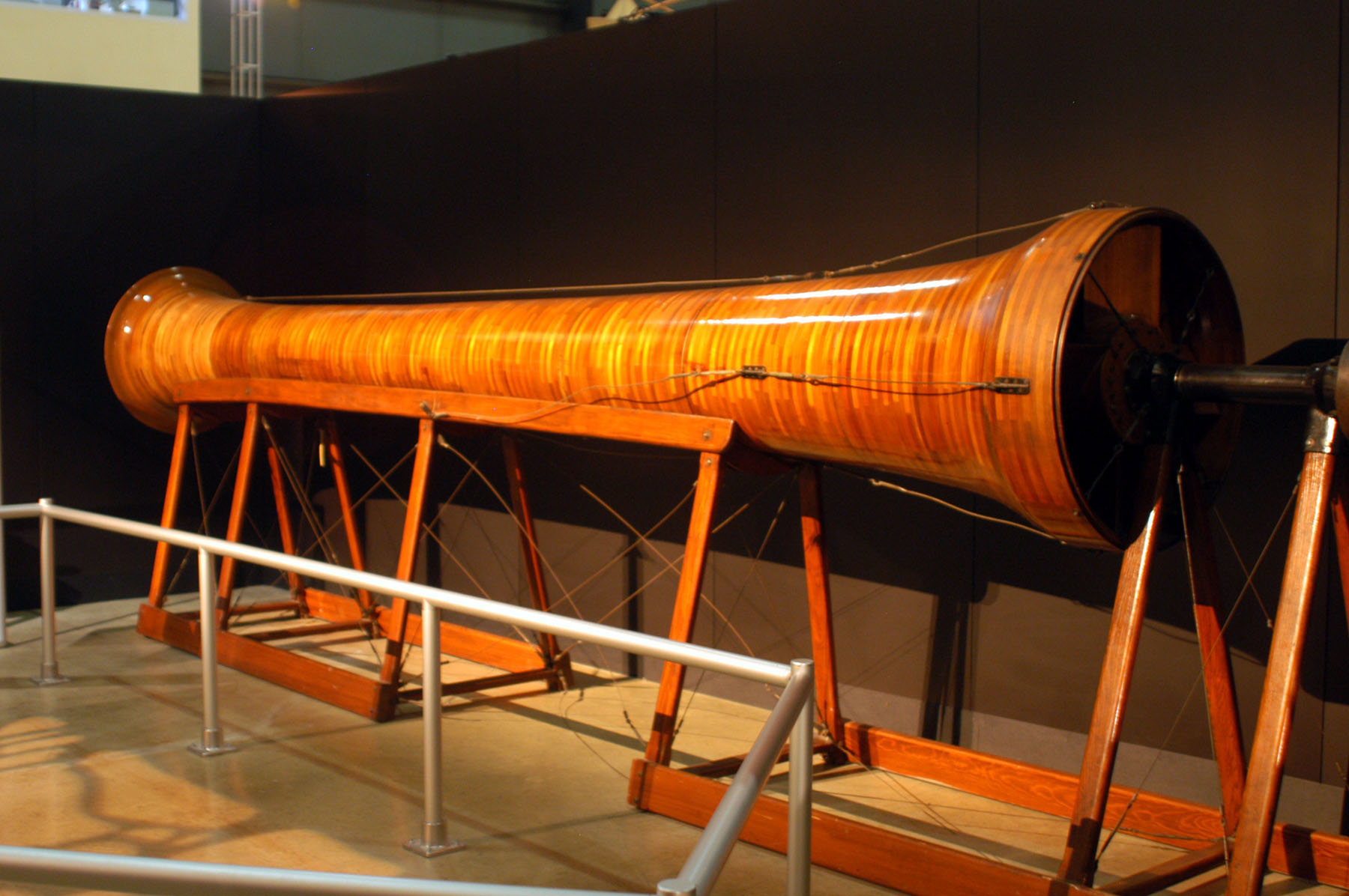 DAYTON, Ohio -- Wright Brothers 1911 Wind Tunnel at the National Museum of the United States Air Force. (U.S. Air Force photo)