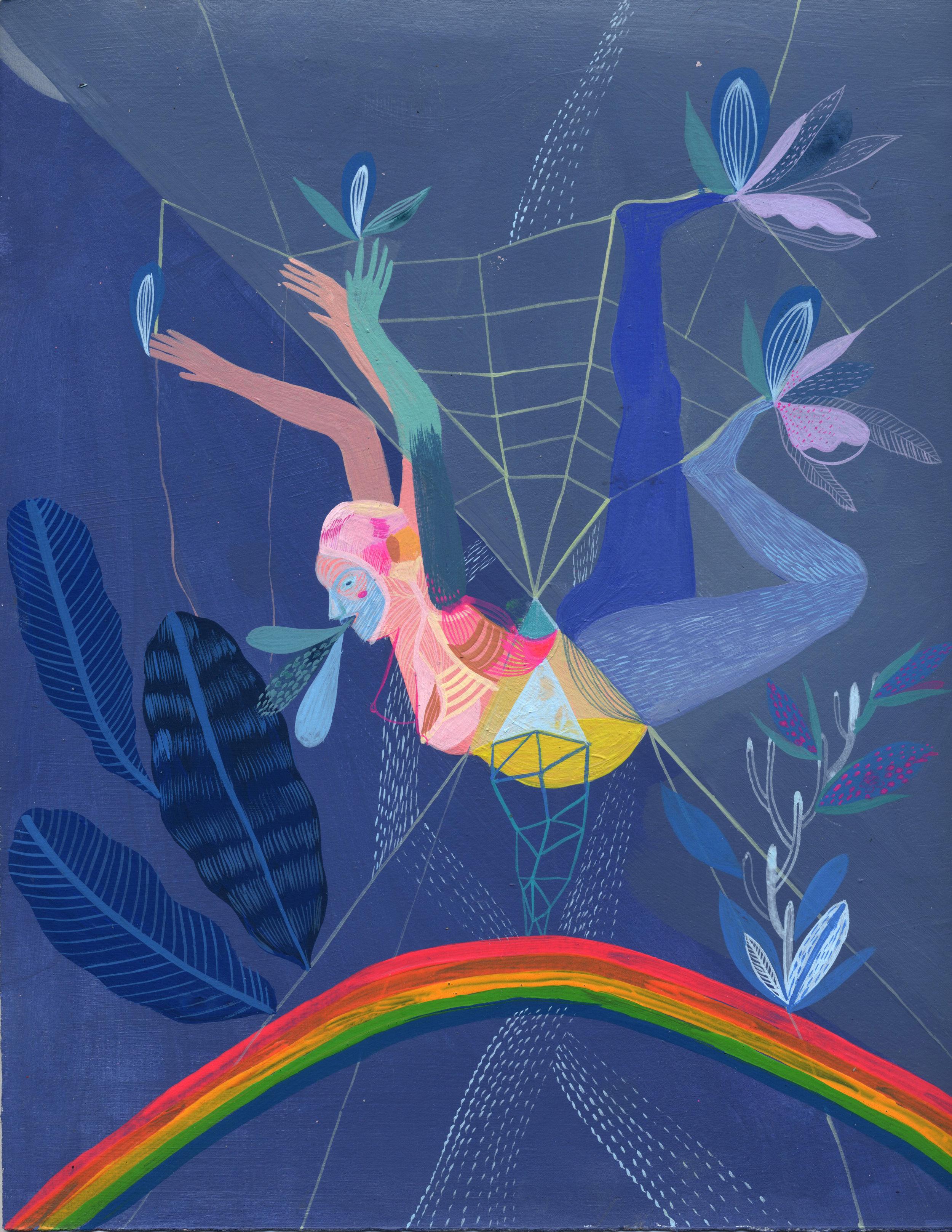 rainbow bounce