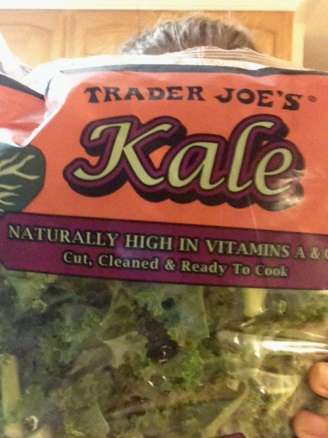 Kale Bag the Size of my Head