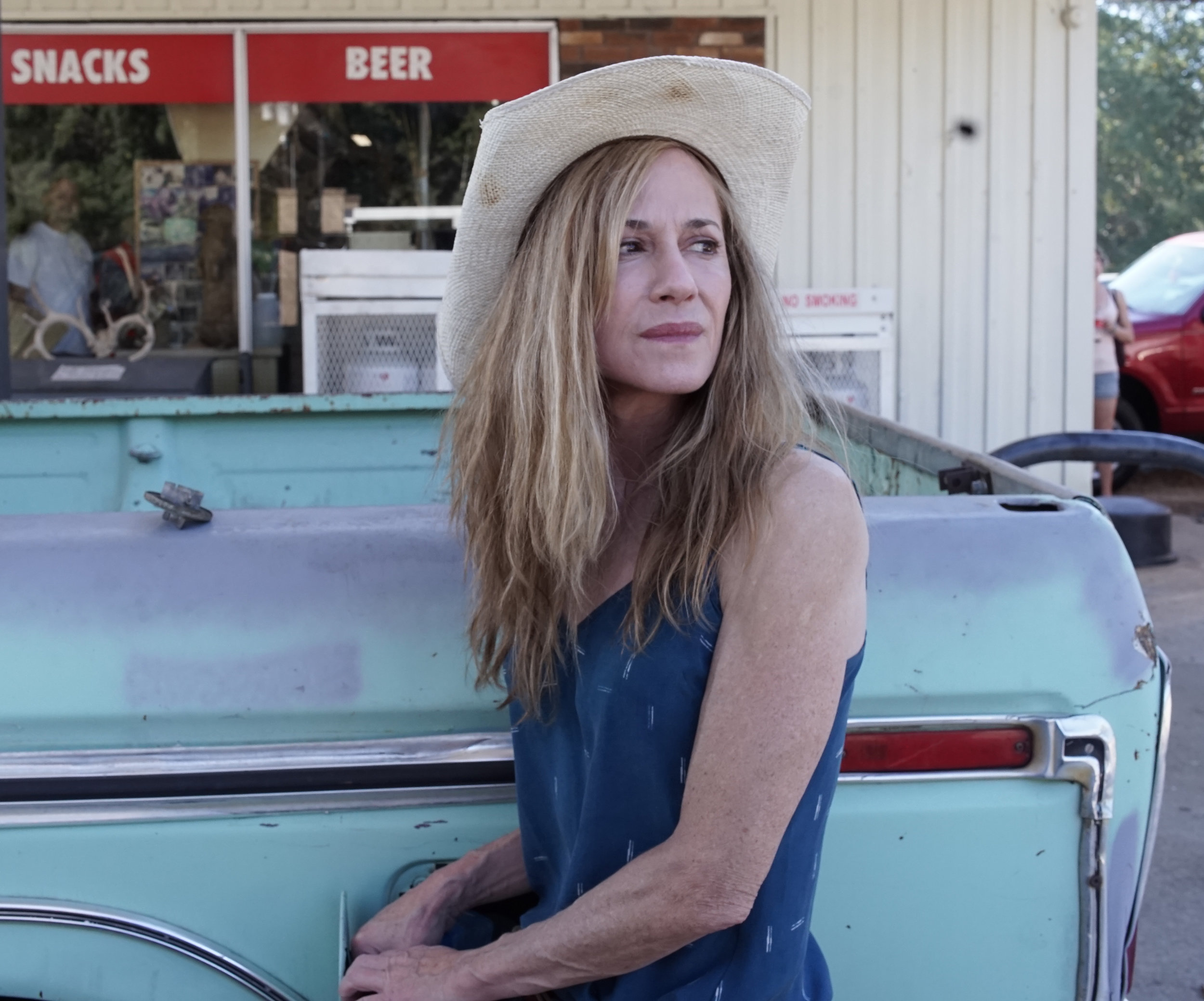 Holly Hunter stars in Strange Weather, the opening night film for Oxford Film Festival.