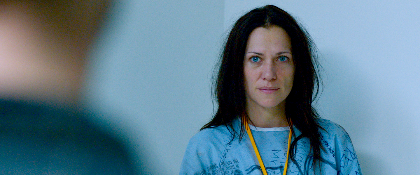 Catherine Eaton in The Sounding, a narrative feature.
