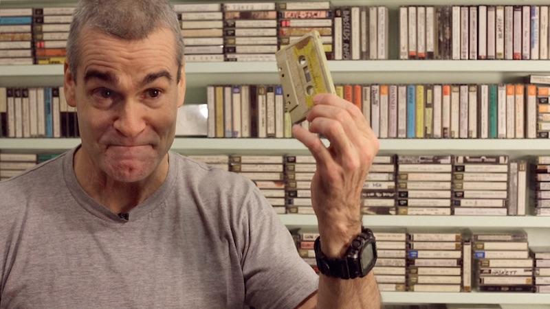 Henry Rollins in Cassette: A Documentary Mixtape
