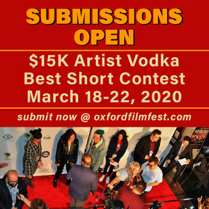 Best Vodka 2020 Oxford Film Festival