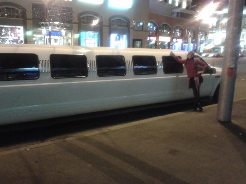 My Limo in Moscow