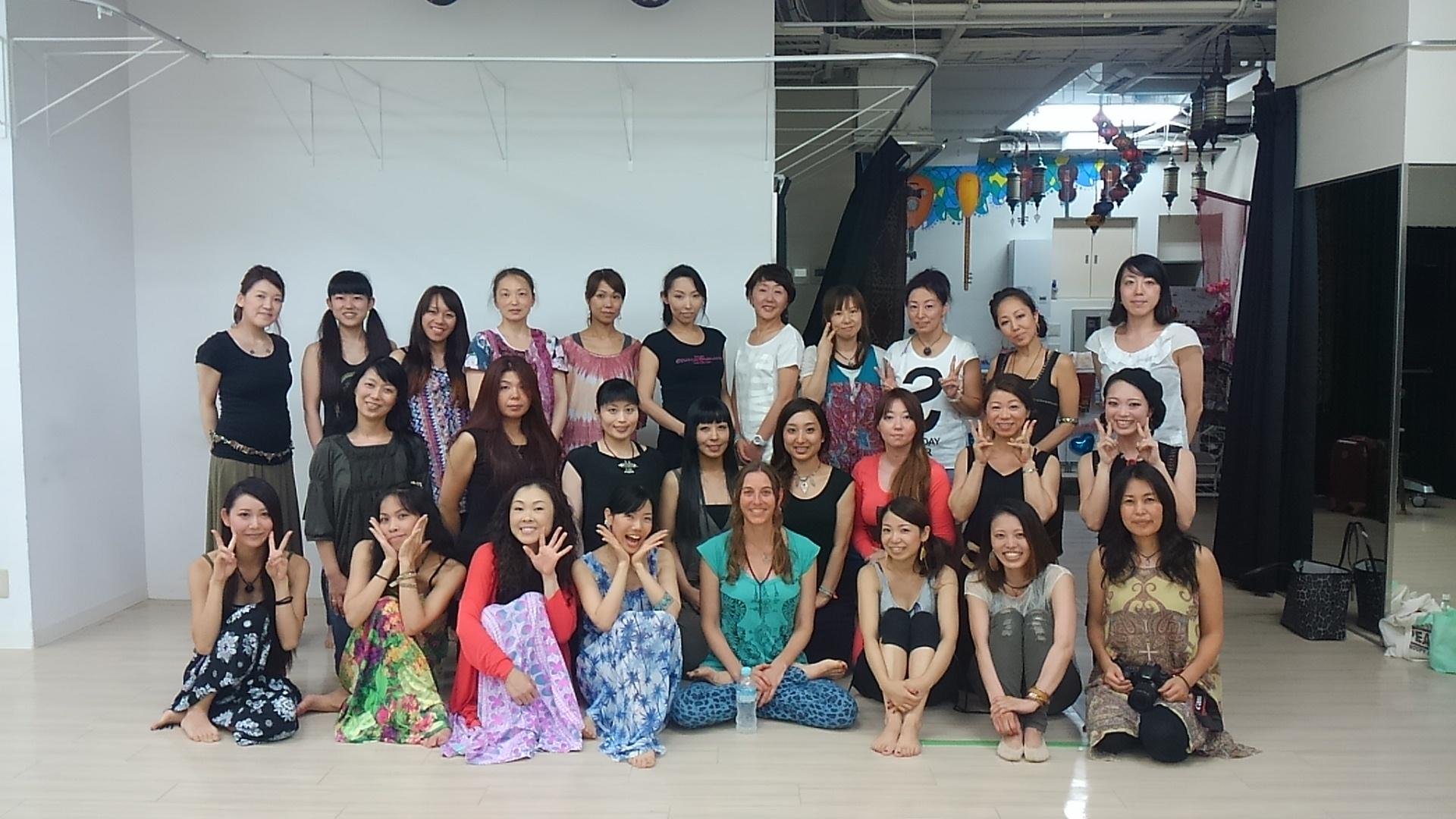 Rhythm for dancers workshop in Osaka, 2015