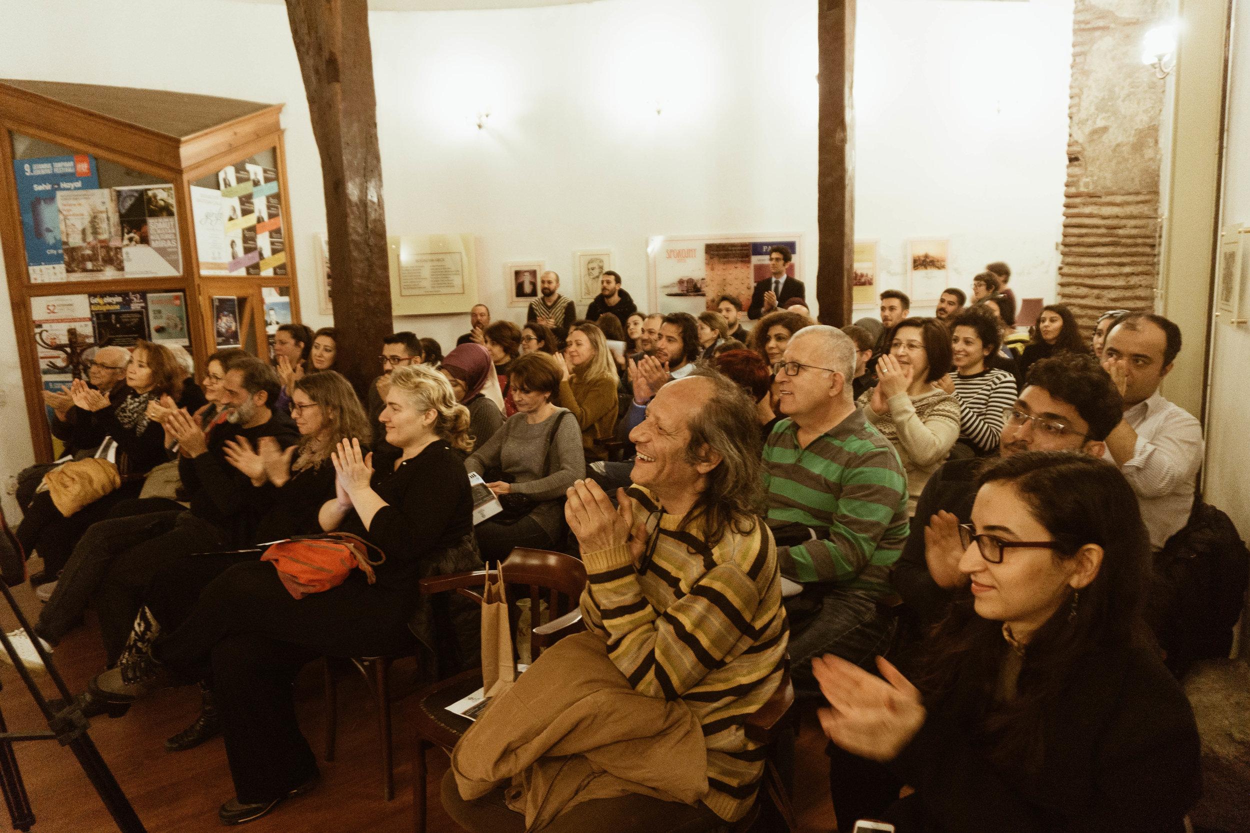 Raquy Danziger Classical Concert - Crowd