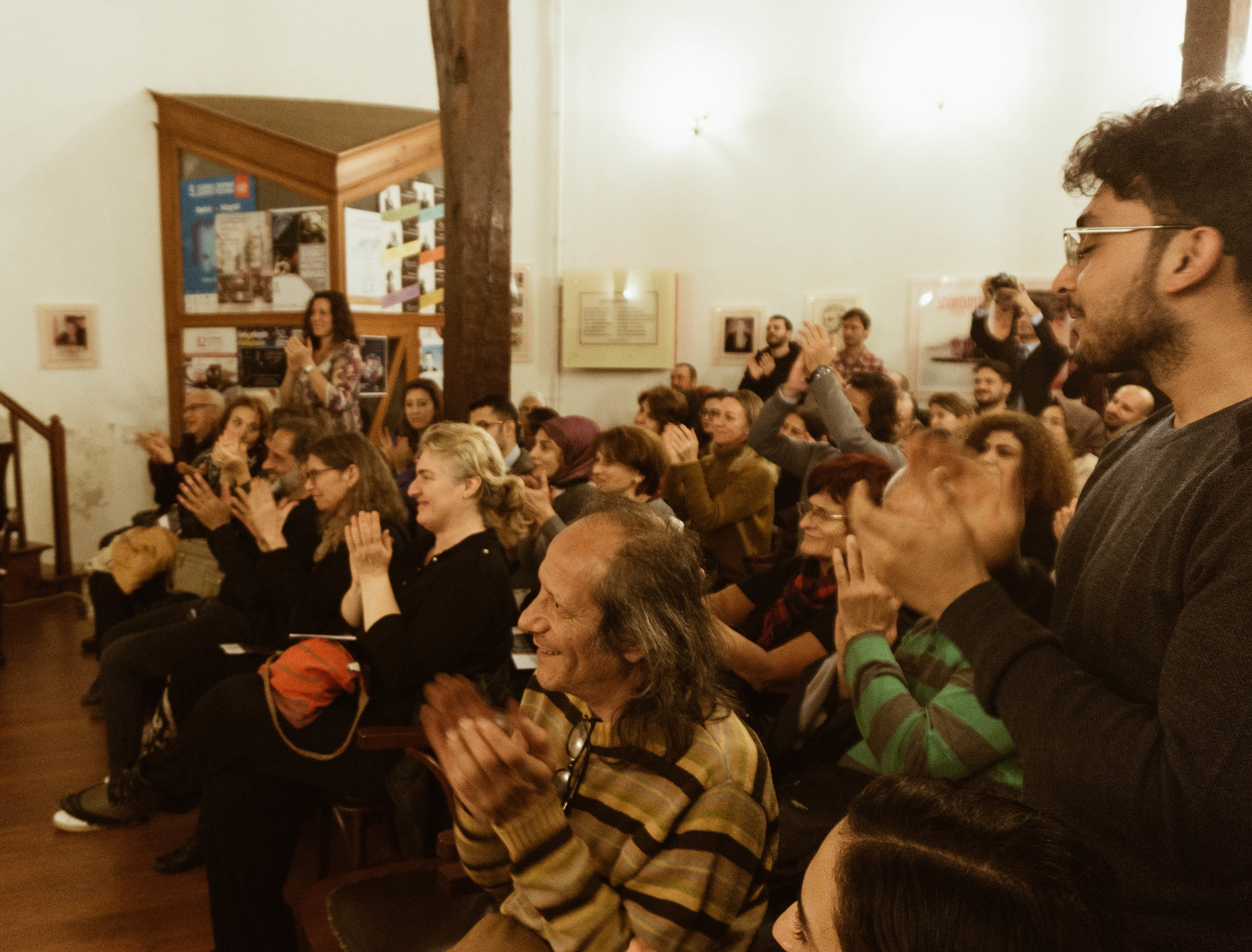 Raquy Danziger and Onder Cebeci - Classical Concert Crowd