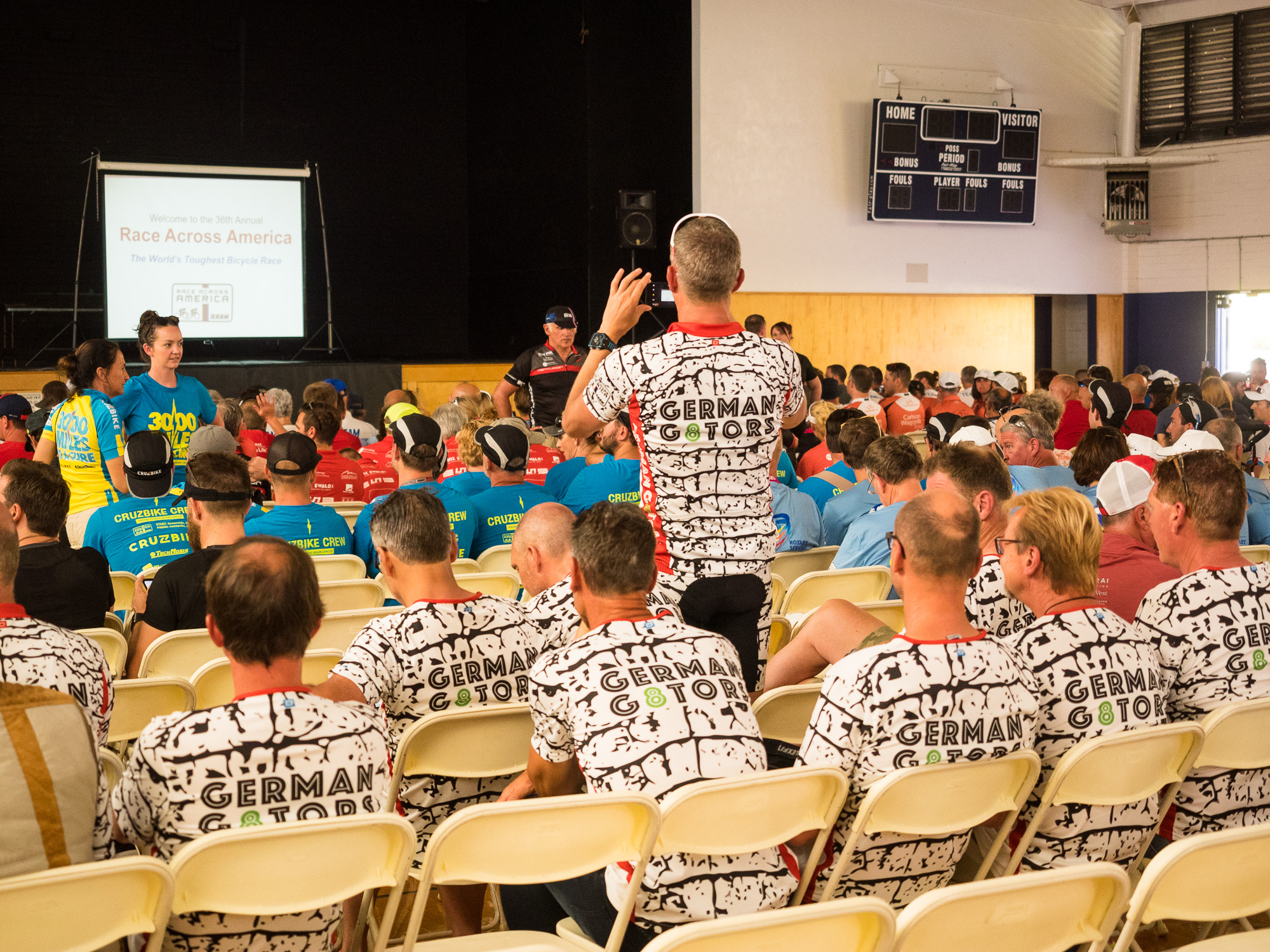 RAAM racer briefing