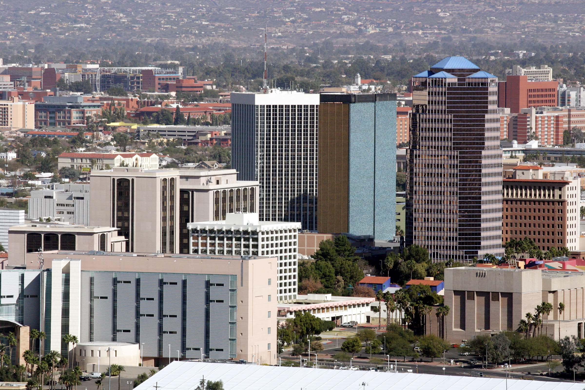How will the general plan change Tucson over the next ten or more years?