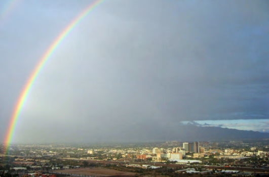 Plan Tucson is not all seashells and balloons. It is also rainbows. Plan Tucson, Page 4.3.
