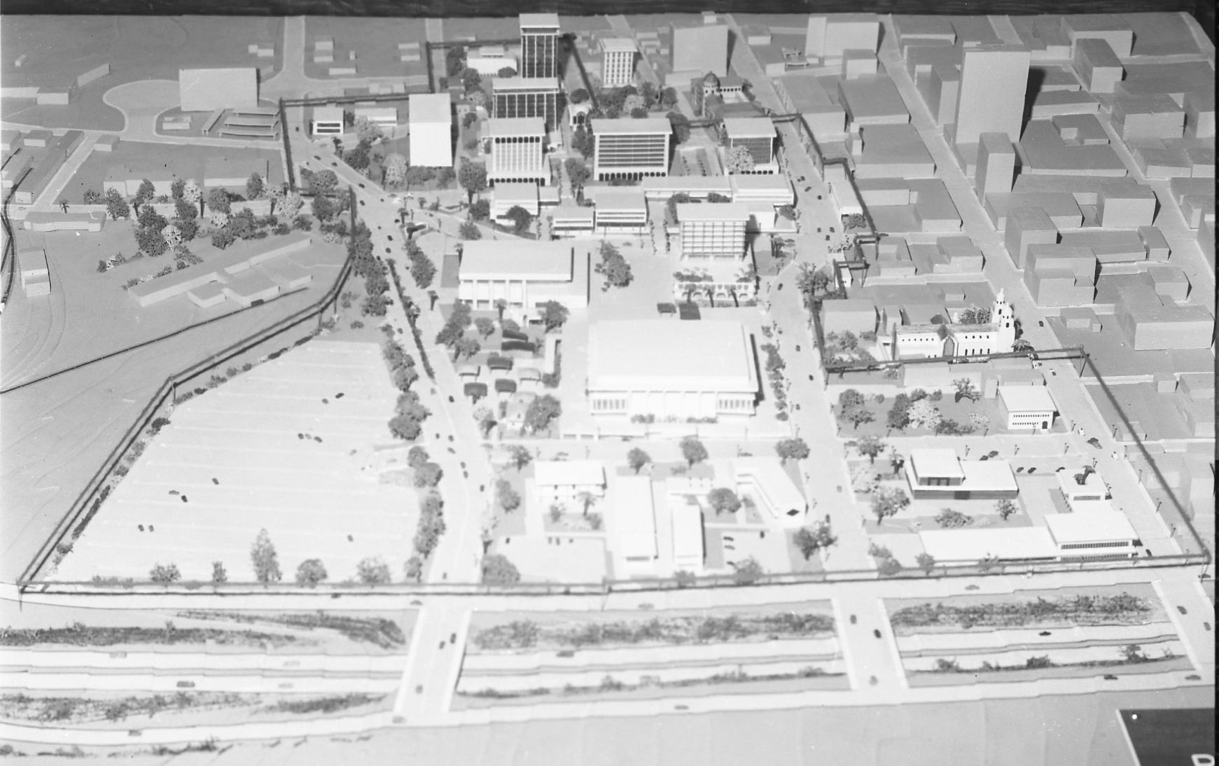 1965 Tucson Downtown Urban Renewal Model