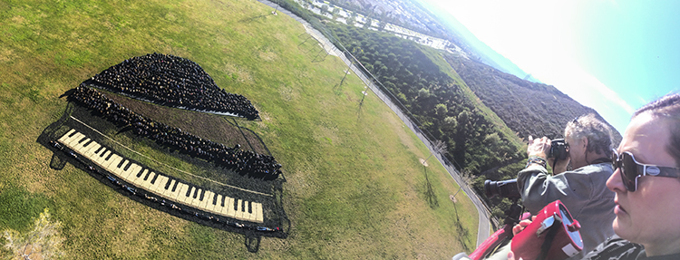 West Creek Academy Creates 'Living Painting' Of Piano-6