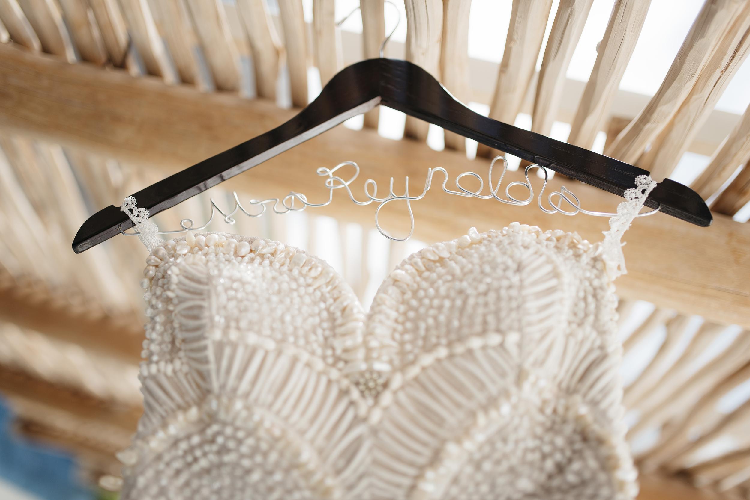 Handmade wedding dress for Sayulita Mexico Destination Wedding by Colby and Jess colbyandjess.com
