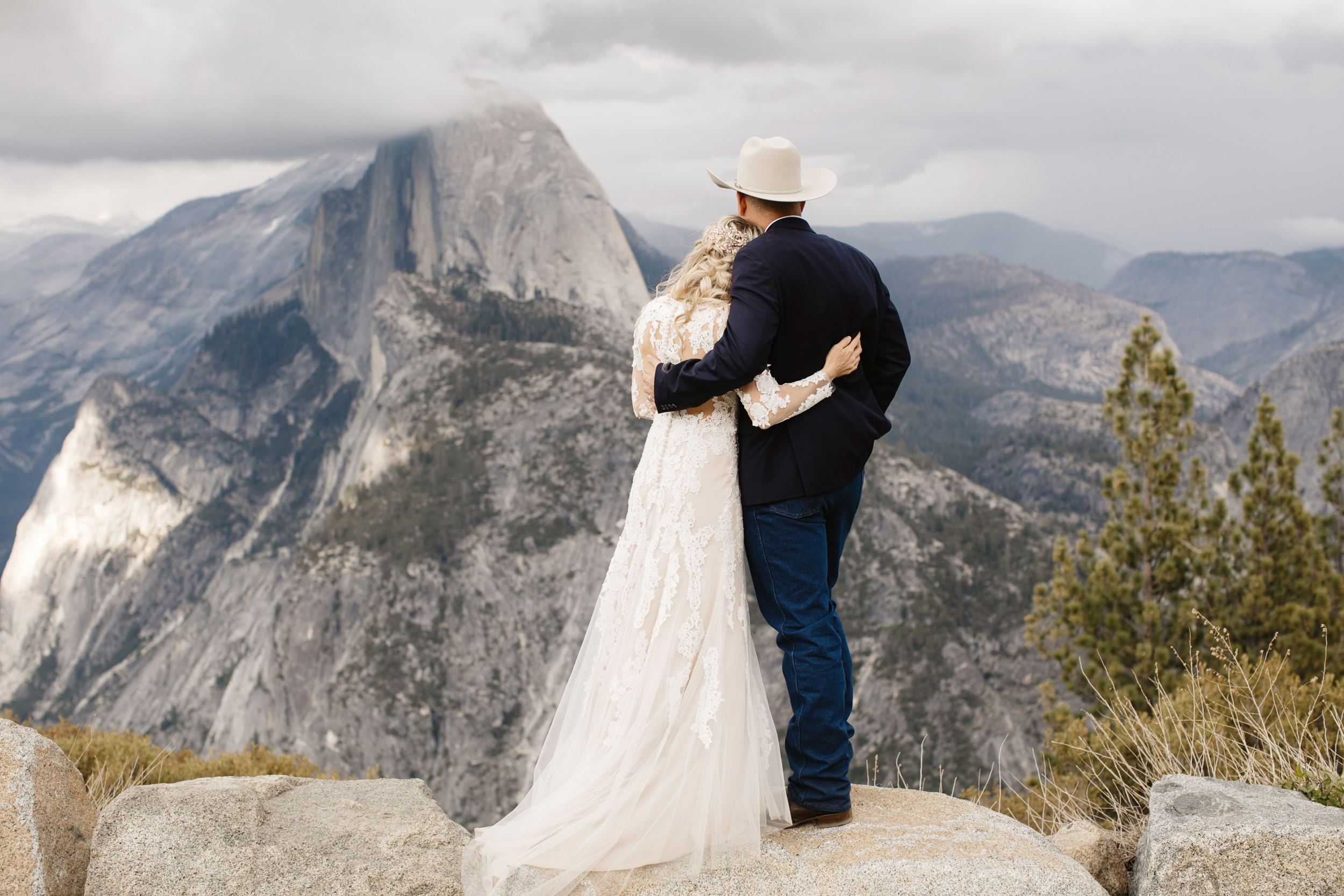 Glacier Point Yosemite Destination Elopement Photographer Colby and Jess colbyandjess.com