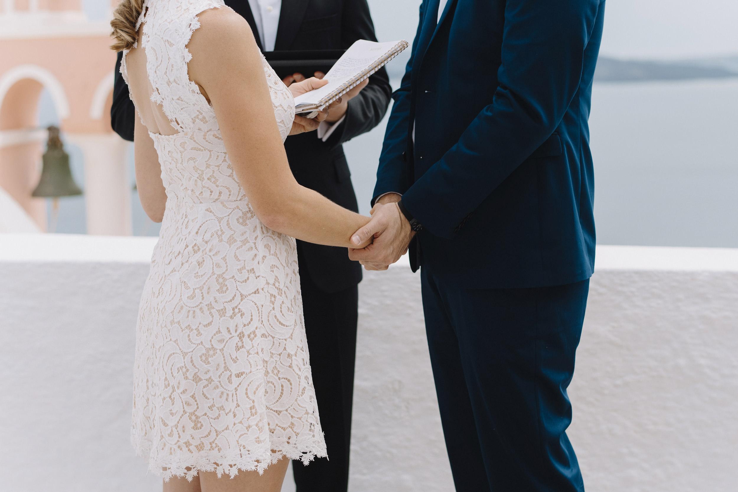 Oia Santorini Greece Destination Elopement Wedding Photographer Colby and Jess