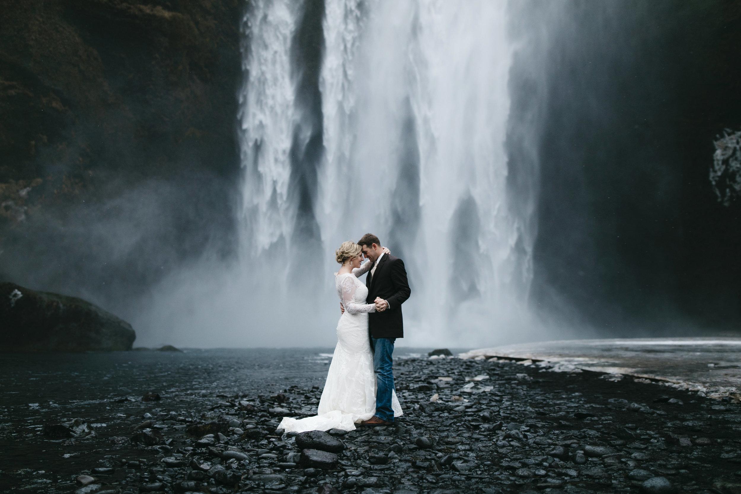 Skogafoss, Iceland  Elopement Photographer