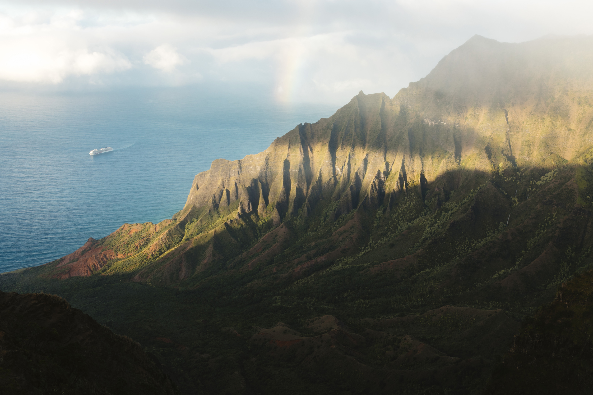 Kalepa ridge elopement ceremony location with Kauai Wedding photographers Colby and Jess